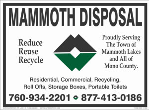 Reduce Reuse Recycle Mammoth Lakes Disposal