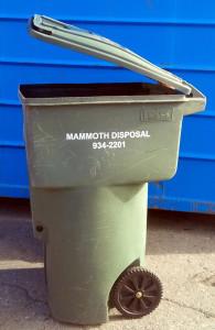 Residential Trash Service Mammoth Lakes, California
