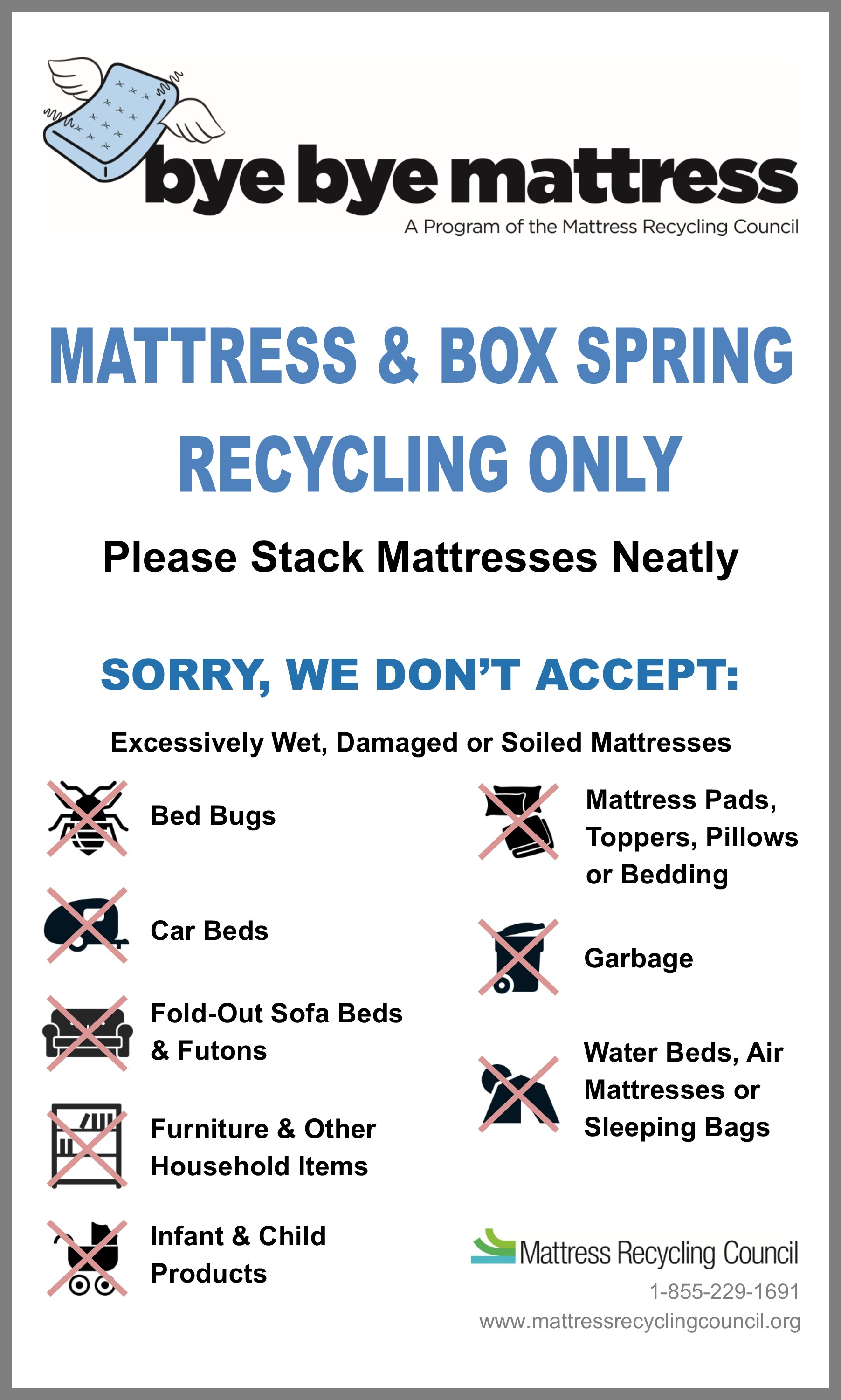 Mattress Recycling Inyo County